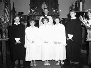 Lutheran Ch. Confirmation 1951