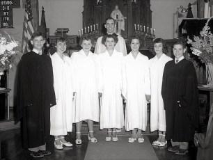Lutheran Church Confirmation 1949