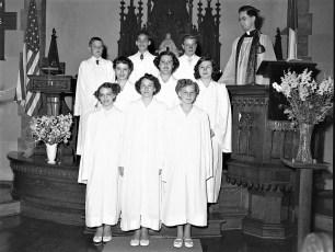 Lutheran Church Confirmation 1953