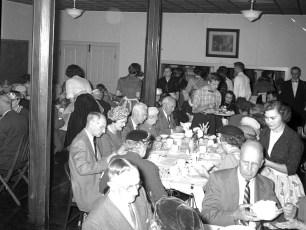 Lutheran Church Thanks giving Dinner 1957 4