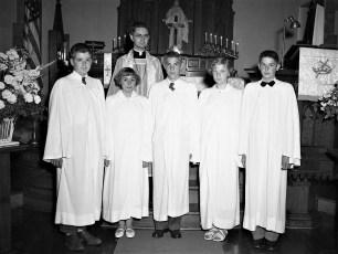 Lutheran Church Viewmont Confirmation 1952