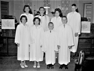 Manorton Lutheran Church Confirmation 1963