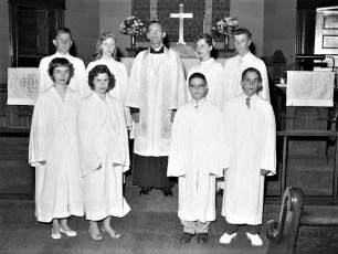 St. John's Lutheran Ch. Confirmation 1959