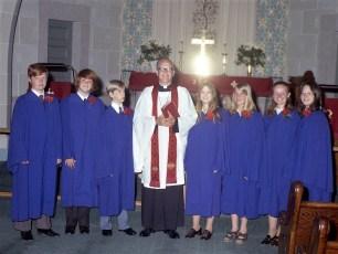 St. John's Lutheran Church Confirmation Manorton 1972