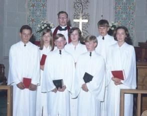 St. John's Lutheran Church Manorton Confirmation 1967