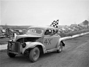 Mellenville Stock Car Races 1950 (4)