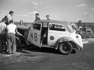 Stock Cars Mellenville NY 1951 (15)