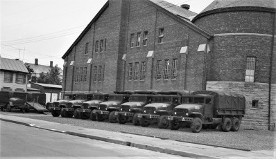 NYS National Guard Armory Hudson 1954