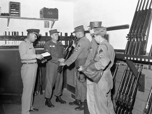 NYS Nationl Guard 152nd Engineer Battalion deploys to camp Hudson 1959 (2)