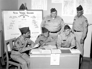 New York Guard Co. D Hudson 1964