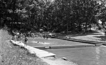 Oakdale Lake Lagoon Pool built by NYS National Guard Hudson 1956 (1)