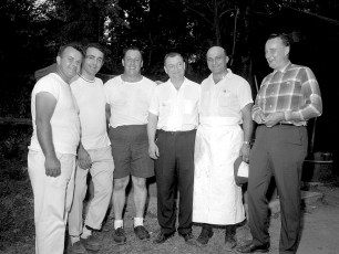 NYS Troopers & Hudson P.D. 3rd Annual Clam Bake at Oakes Farm 1964 (4)