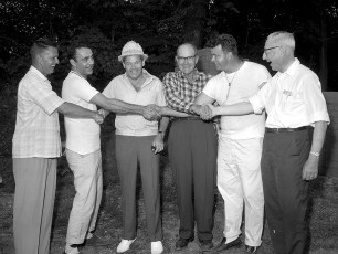 NYS Troopers & Hudson P.D. 3rd Annual Clam Bake at Oakes Farm 1964 (6)