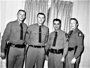 New York State Police Claverack Station 1968