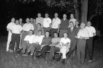 State Police Claverack cookout at Fatso's Grove 1966