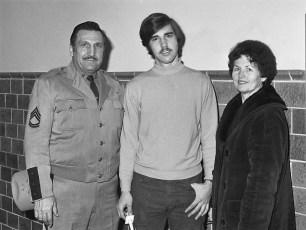 NYS Trooper Sgt. Aquilio, Mrs. Aquilio & their son 1976
