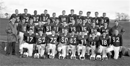 OCS Football Team 1960