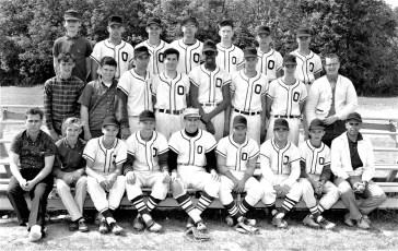 Ockawamick Baseball Team May 1964