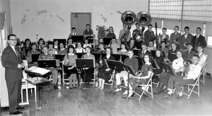 Ockawamick Central School Band 1958 59 (2)
