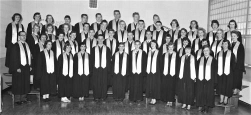 Ockawamick Central School Chorus 1958 59