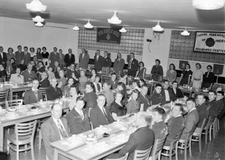 Ockawamick Central School F.H.A. & F.F.A. Joint Dinner 1956 (1)