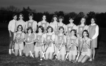 Ockawamick Central School Field Hockey Team 1967