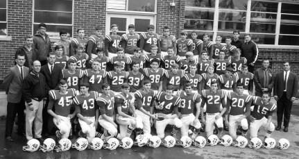 Ockawamick Central School Football Team 1966