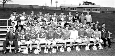 Ockawamick Central School Football Team 1968