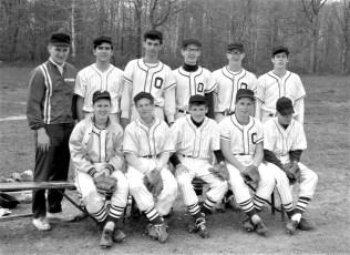 Ockawamick Central School JV Baseball Team 1967