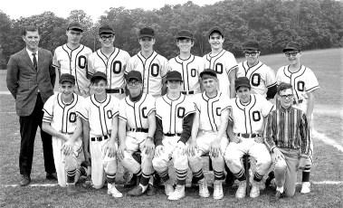 Ockawamick Central School JV Baseball Team 1969