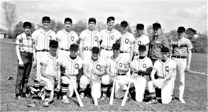 Ockawamick Central School V. Baseball Team 1967