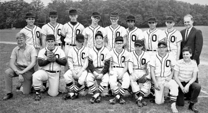 Ockawamick Central School V. Baseball Team 1969
