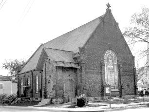 First Baptist Church Hudson 1957