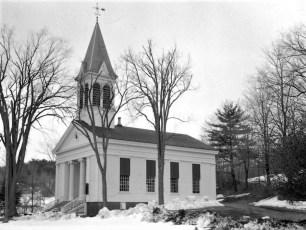Martindale Baptist Church Rt. 23 Martindale 1958