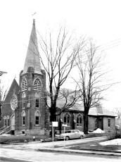 Sacred Heart Church Main & Ark Sts. Philmont 1958