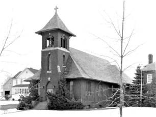 St. Barnabas Roman Catholic Church Stottville 1958