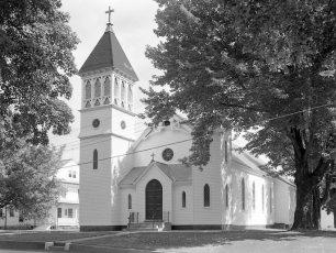 St. Mary's Church Stuyvesant 1957