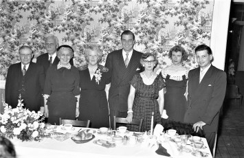 Democrat Dinner at General Worth Hotel Hudson 1954 (3)