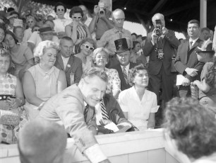 Governor Rockefeller visits the Columbia Cty. Fair 1962 (10)