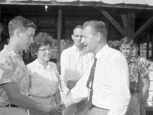 Governor Rockefeller visits the Columbia Cty. Fair 1962 (4)
