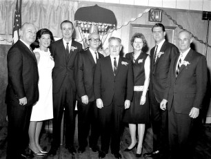 Red Hook Republicans with guest Hamilton Fish, Jr. 1966 (1)