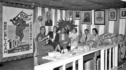 Republican Booth Col. Cty. Fair 1954