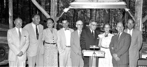Republican Clambake at Polish Club 1955 (1)
