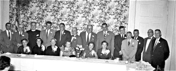 Republican Dinner at General Worth Hotel Hudson 1955 (1)