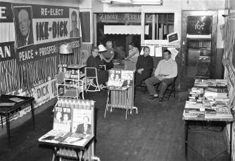 Republican Headquarters 701 Warren St. Hudson 1956 2