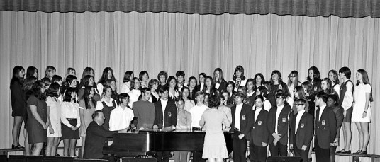 Red Hook Central Band & Chorus concert 1970 (1)