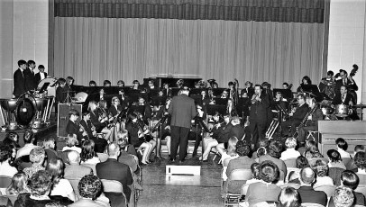 Red Hook Central Band & Chorus concert 1970 (2)