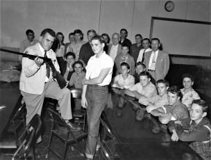 Red Hook High School Hunter Safety Class 1953
