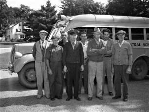 Red Hook School bus drivers 1951