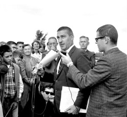 Red Hook School welcomes Sec. of the Interior Stewart Udall 1966 (3)